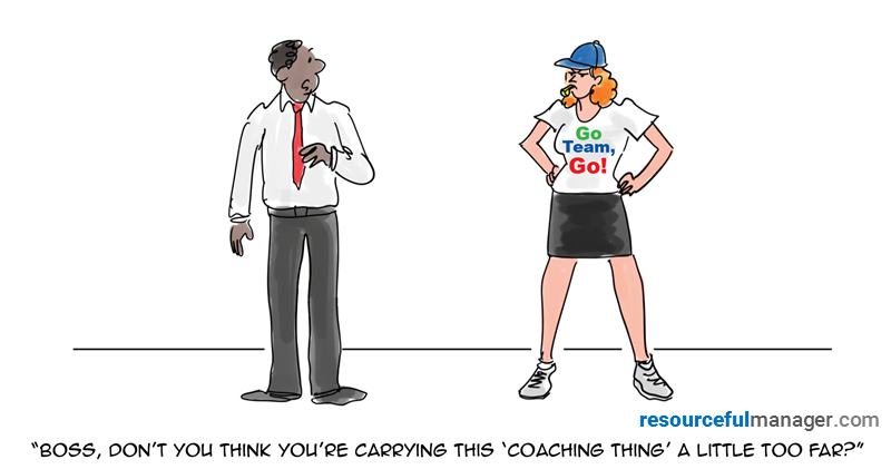 coaching employees cover art