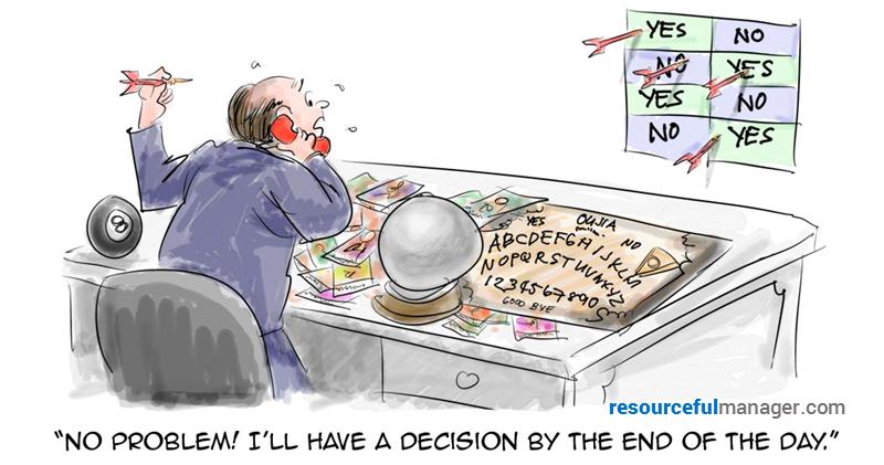 decision cartoon cover