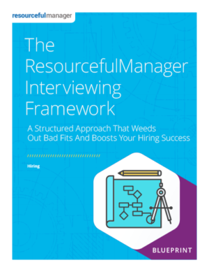 The ResourcefulManager Interviewing Framework