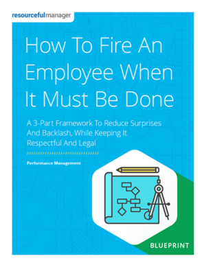 How to Fire an Employee When It Must Be Done