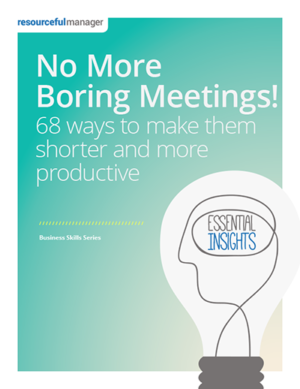 No More Boring Meetings!