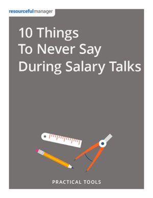 10 Things to Never Say During Salary Talks