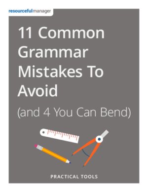 Cover: 11 Common Grammar Mistakes To Avoid