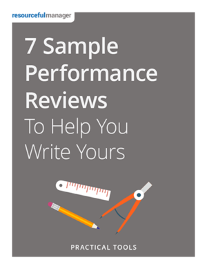 7 Sample Performance Reviews to Help You Write Yours