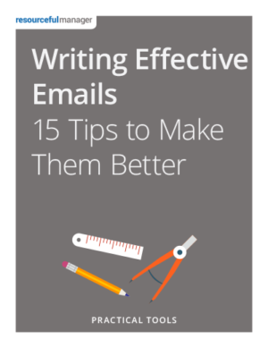 Cover: Writing Effective Emails - 15 Tips to Make Them Better