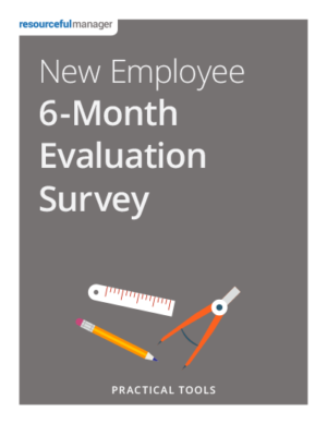New Employee 6-Month Evaluation Survey