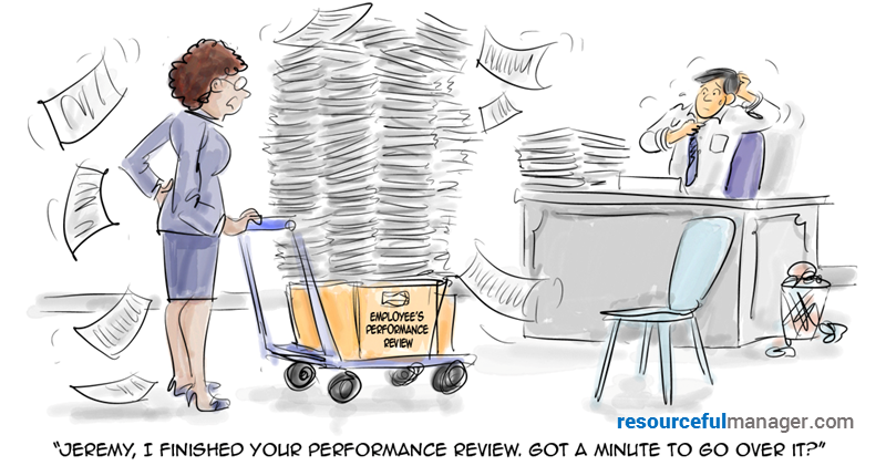 employee performance reviews cover