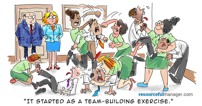 Team-building cover
