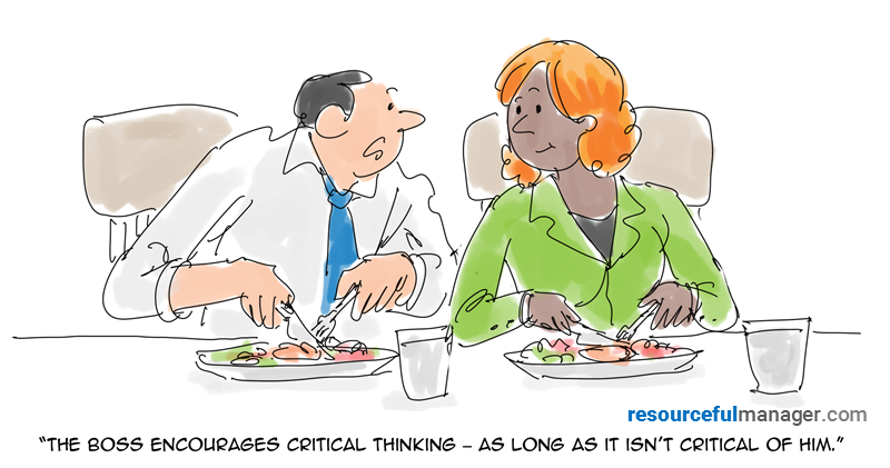 critical thinking cartoon